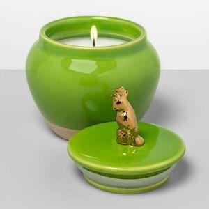 Opalhouse Figural Jar Candle - Palm Oasis